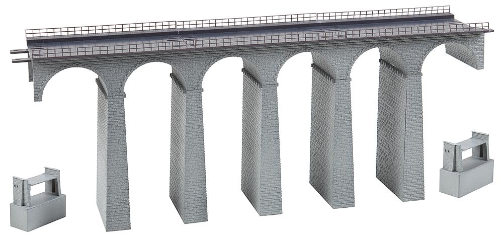 Viadukt-Set 2-gleisig, gerade