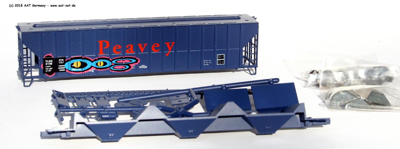 Peavey (graffitied)