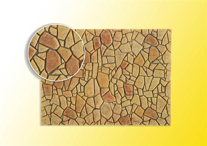 Polygonalplatte, mediterran