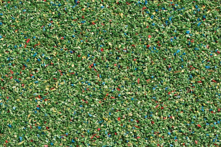 Streumaterial Wiese dunkelgrün