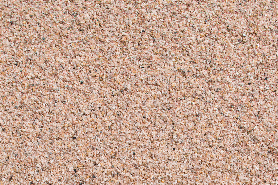 Granit-Gleisschotter, beigebraun