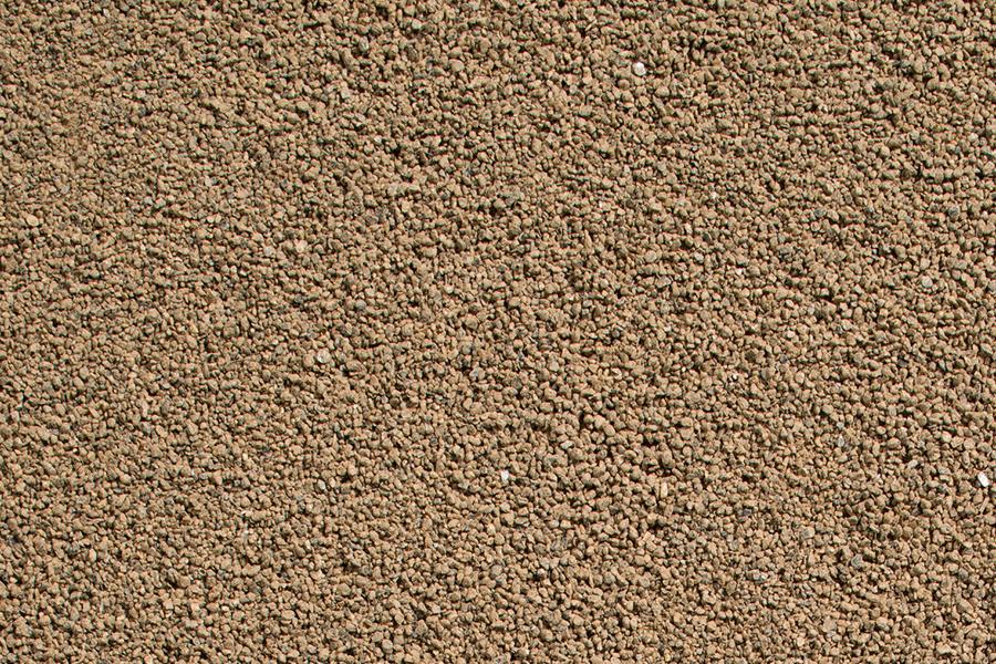 Granit-Gleisschotter, erdbraun