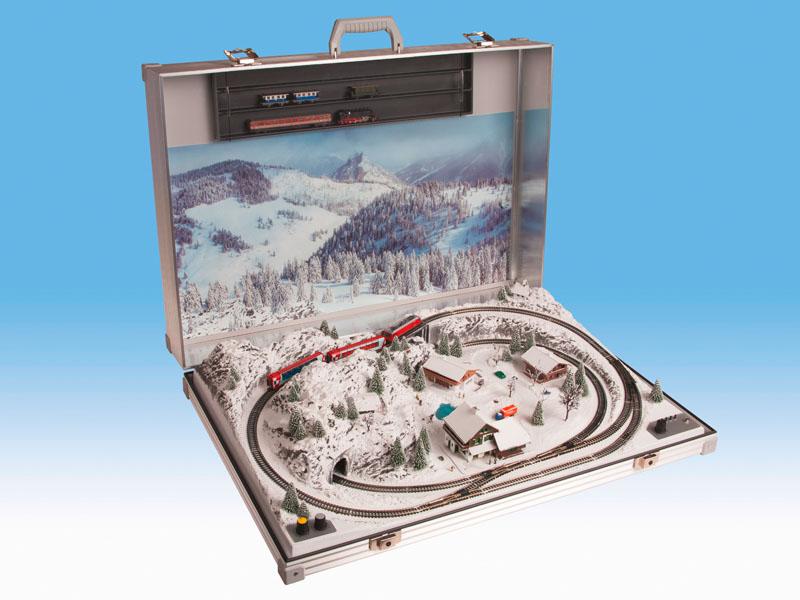 """Modellbahnkoffer """"Garmisch"""""""