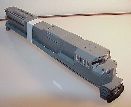 Bodyshell EMD SD80MAC