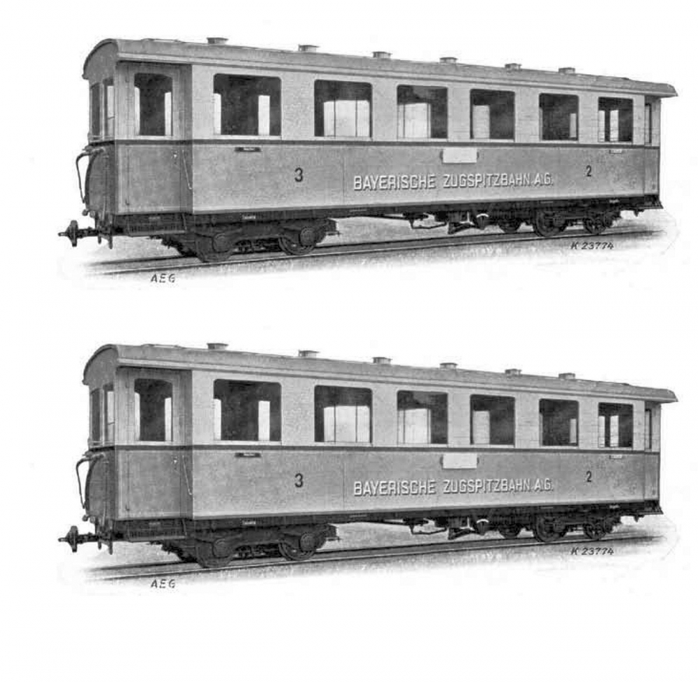 Zugspitzbahn Ergänzungsset 2-tlg.