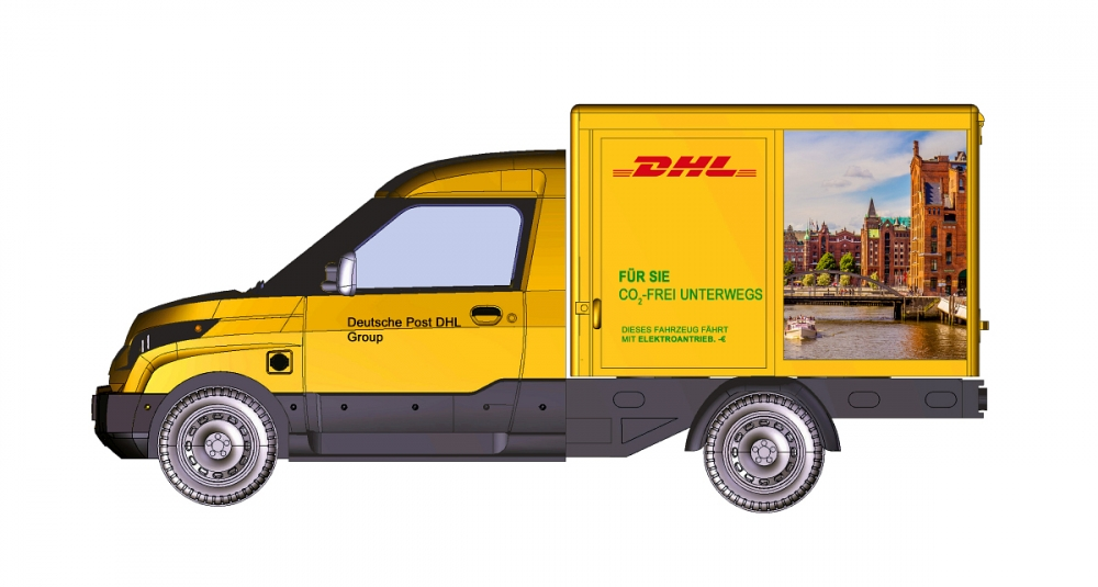 Streetscooter Work DHL Hamburg