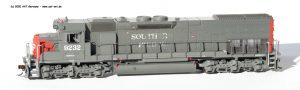 EMD SD45T-2