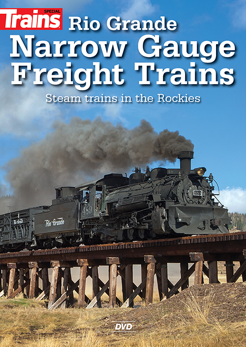 Rio Grande Narrow Gauge Freight Trains