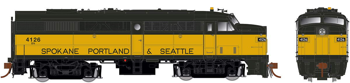 Burlington Northern (exSP&S)