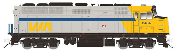 VIA Rail (as delivered)