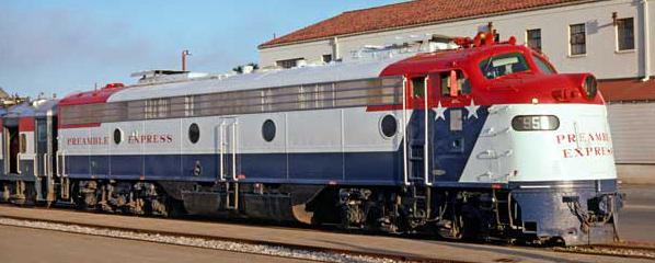 Union Pacific Preamble Express