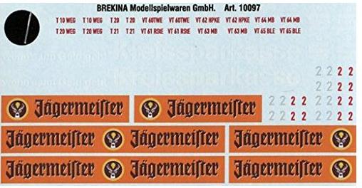Decalsatz für Esslinger AGV Privatbahnen