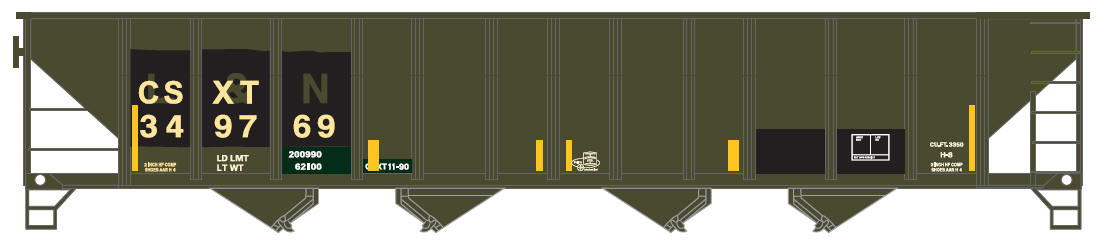 CSX (patch, exL&N)