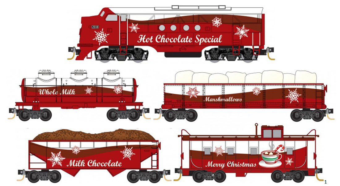 Hot Chocolate Special Christmas Trainset