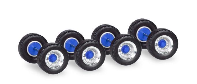 Radsätze Breitreifen für Auflieger