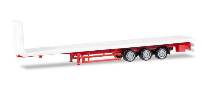 Lowliner Flachbett-Auflieger 3-achs