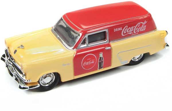 Coca Cola Salesman`s Car