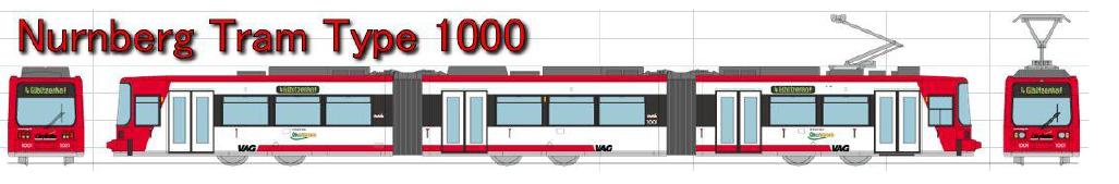 Standmodell Bombardier 1000 Nürnberg