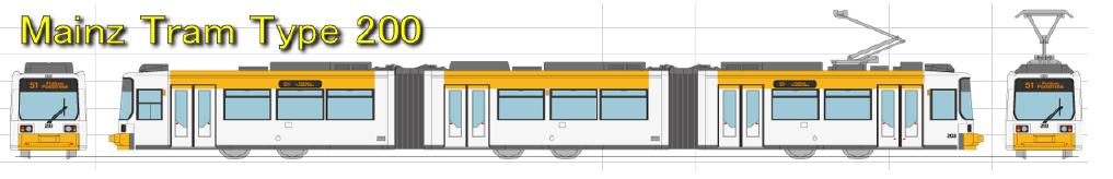 Standmodell Typ 200 Mainz