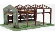 Verfallene Fabrik (Bausatz)