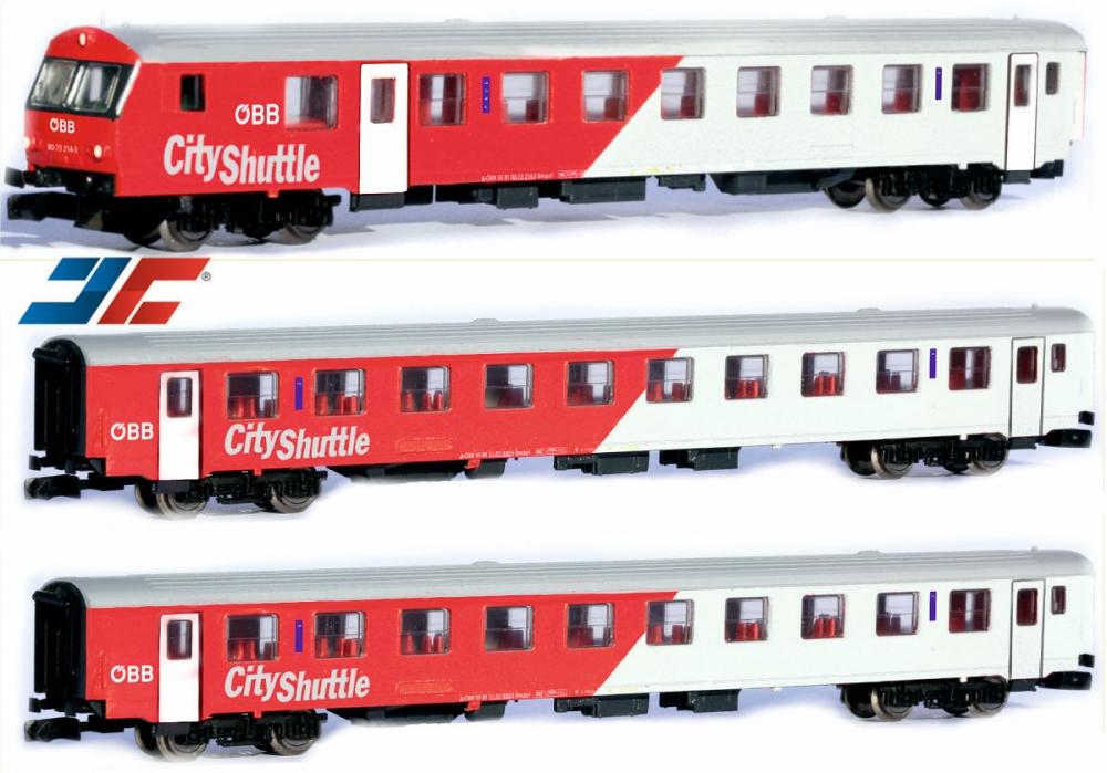City Shuttle Set 3-tlg. - ÖBB