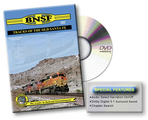 BNSF - Tracks of the Old Santa Fe, Vol. 1