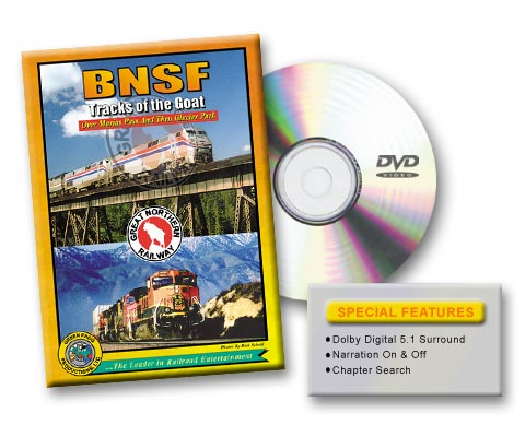 BNSF - Tracks of the Goat, Vol. 1