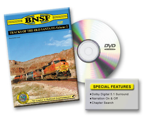 BNSF - Tracks of the Old Santa Fe, Vol. 2