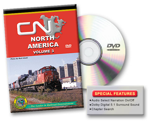 Canadian National North America, Vol. 3