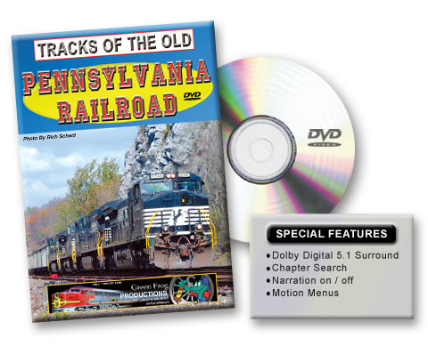 Tracks of the old Pennsylvania