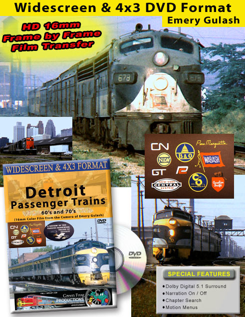Detroit Passenger Trains