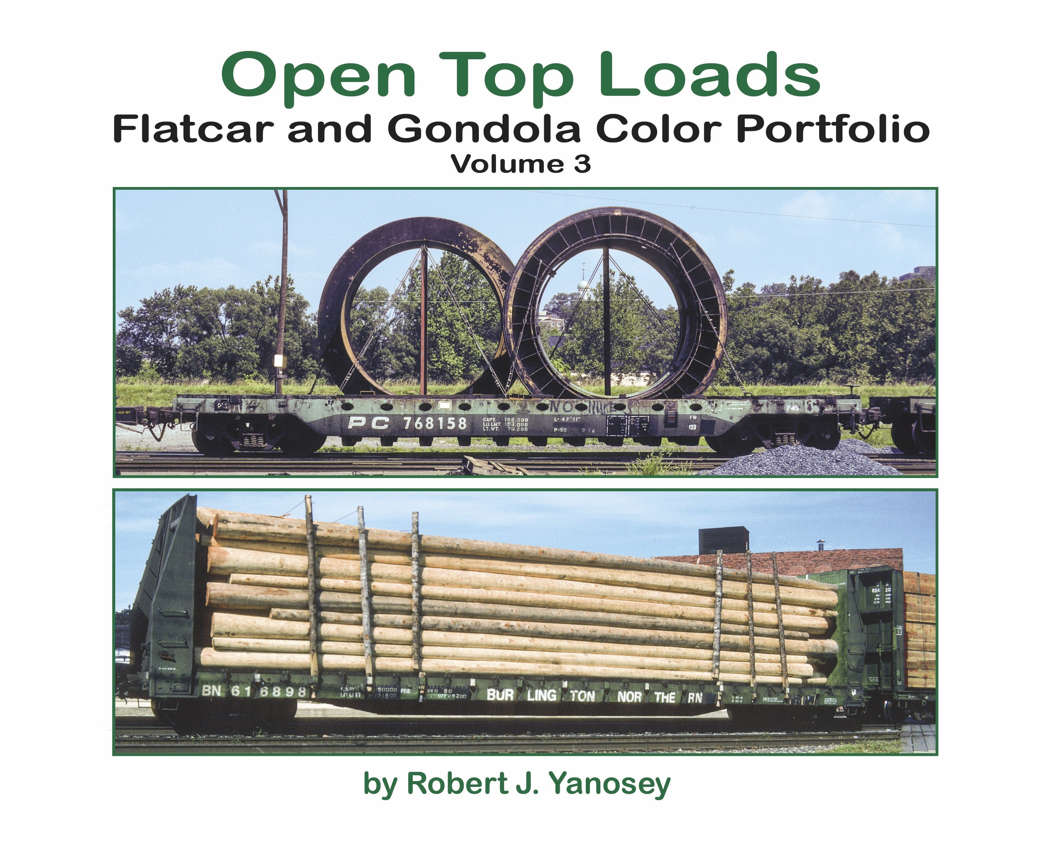 Open Top Loaders - Flats & Gondolas, Vol. 3