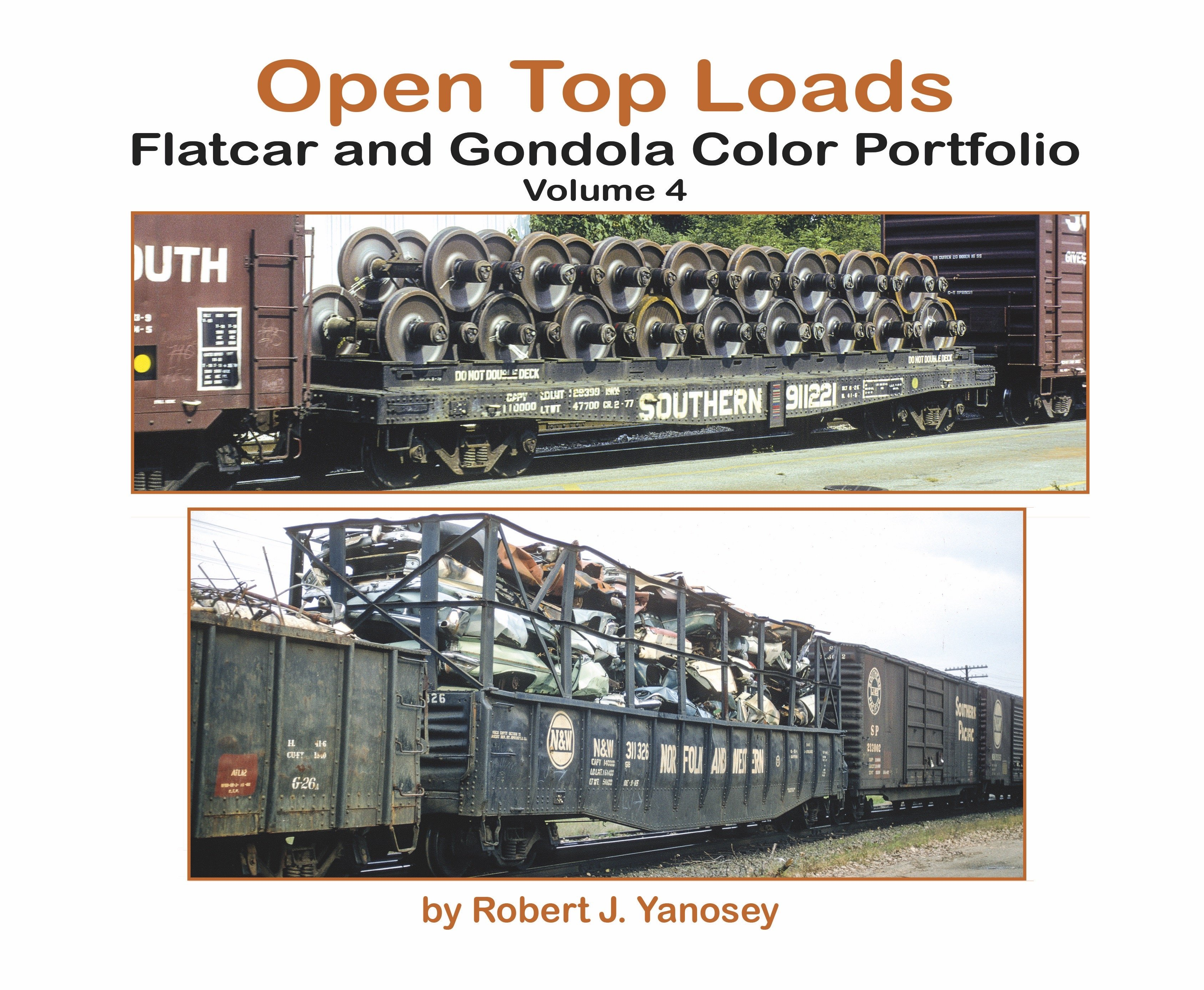 Open Top Loaders - Flats & Gondolas, Vol. 4