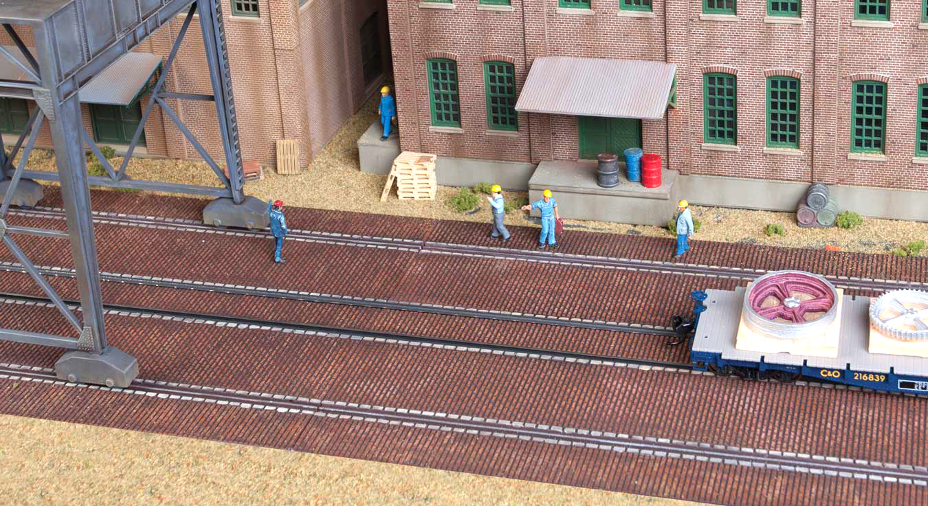 Brick Craneway Base & Street