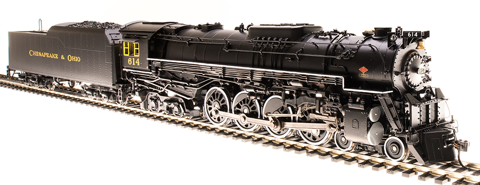 C&O 4-8-4 J3a Greenbrier
