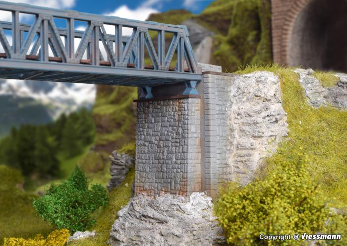 Brückenkopf-Garnitur, zweiteilig