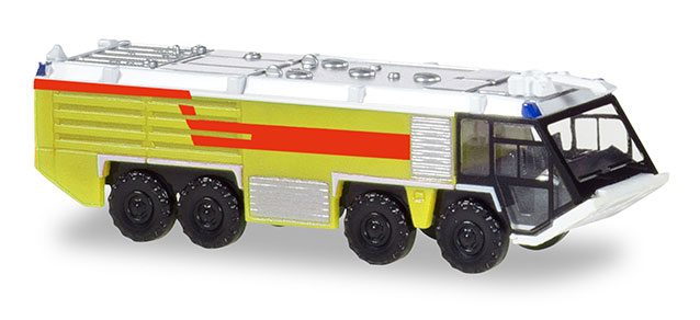 Airport Fire Engine - lime green