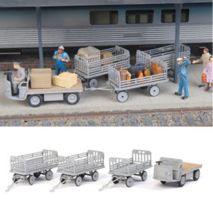 Baggage Tractor & Trailer (Kit)