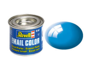 lichtblau, glaenzend