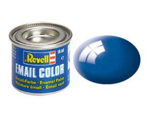 blau, glaenzend