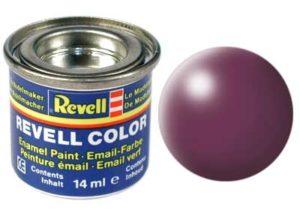 purpurrot, seidenmatt