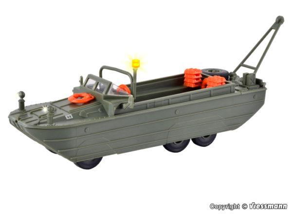 Amphibien Fahrzeug mit LED-Licht