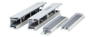 One-Sided Suburban Platform DX