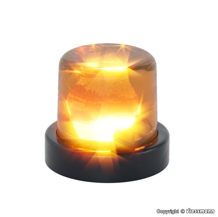 Rundumleuchte mit gelber LED