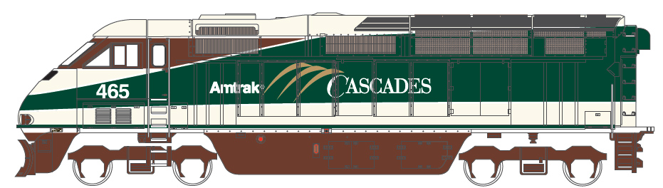 Amtrak Cascardes