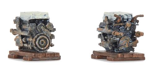 Ladegut Maybach-Panzermotoren