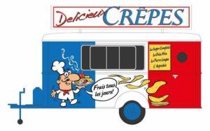 Verkaufswagen Crepes