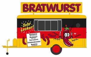 Verkaufswagen Bratwurst