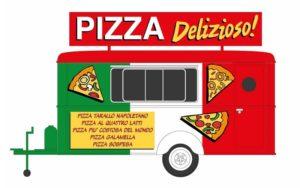 Verkaufswagen Pizza