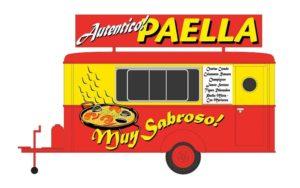 Verkaufswagen Paella